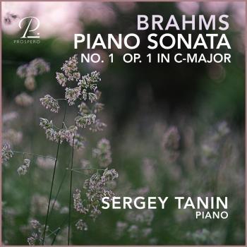 Cover Brahms: Piano Sonata No. 1 in C Major, Op. 1