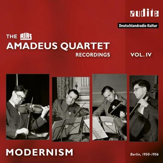 Cover Modernism - The RIAS Amadeus Quartet Recordings, Vol. IV (Remastered)
