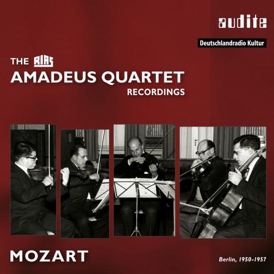 Cover The RIAS Amadeus Quartet Mozart Recordings Vol. III (Remastered)
