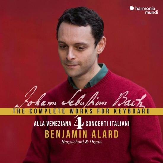 Cover Johann Sebastian Bach: The Complete Works for Keyboard, Vol. 4 'Alla Veneziana'
