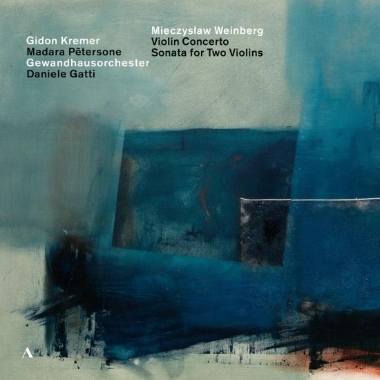 Cover Weinberg: Violin Concerto, Op. 67 & Sonata for 2 Violins, Op. 69 (Live)