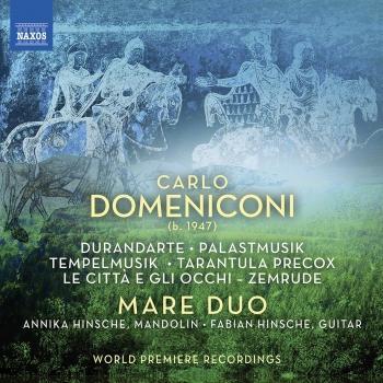 Cover Carlo Domeniconi: Works for Mandolin & Guitar