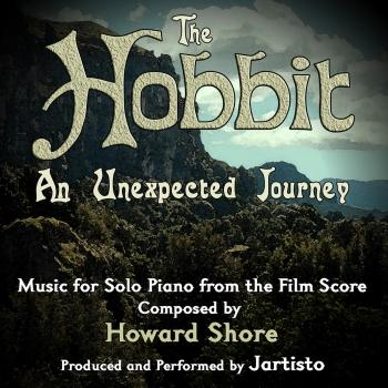Cover The Hobbit: An Unexpected Journey (Music for Solo Piano)