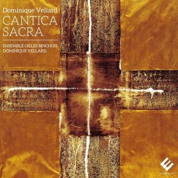 Cover Vellard: Cantica Sacra
