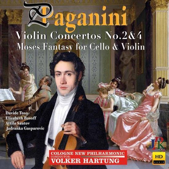 Cover Paganini: Violin & Cello Works
