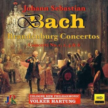 Cover J.S. Bach: Brandenburg Concertos Nos. 1, 2, 4 & 6