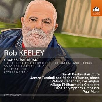 Cover Rob Keeley: Orchestral Music