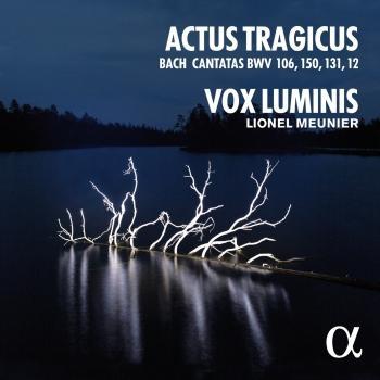 Cover Bach: Actus Tragicus (Cantatas BWV 106, 150, 131, 12)