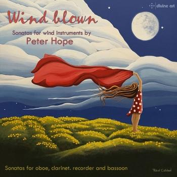 Cover Wind Blown: Sonatas for Wind Instruments by Peter Hope