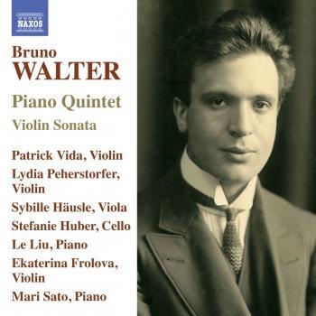 Cover Walter: Piano Quintet & Violin Sonata