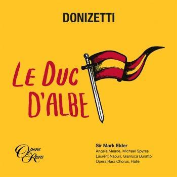 Cover Donizetti: Le duc d'Albe