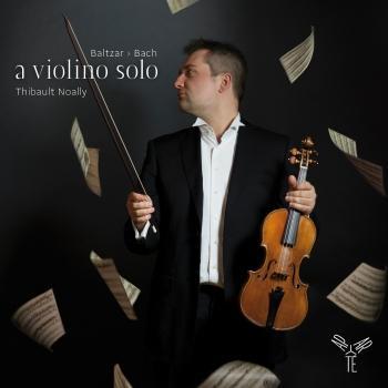 Cover Baltzar, Bach: a violino solo