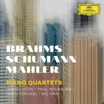 Cover Brahms, Schumann, Mahler: Piano Quartets