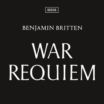 Cover Britten War Requiem