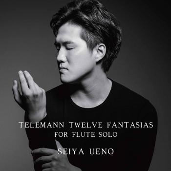 Cover Telemann: 12 Fantasias for Flute Solo, TWV 40:2-13