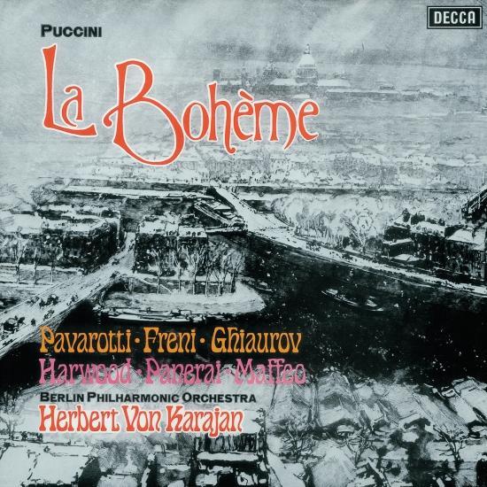 Cover Puccini: La Bohème