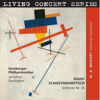 Cover Schostakowitsch: Sinfonie Nr. 15 in A-Dur, op. 141/ Mozart: Haffner Sinfonie