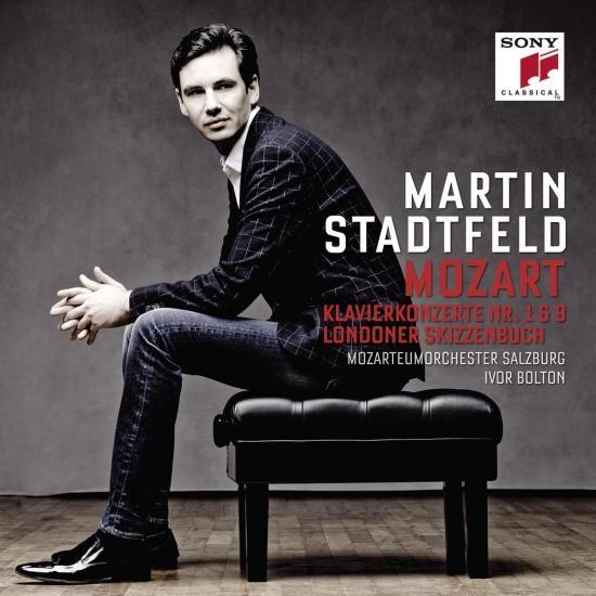 Cover Mozart: Piano Concertos Nos. 1 & 9, Pieces from London Sketchbook
