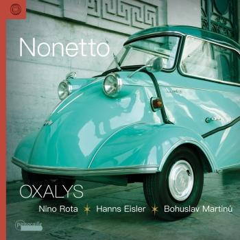 Cover Nonetto: Works by Nino Rota, Hanns Eisler & Bohuslav Martinů