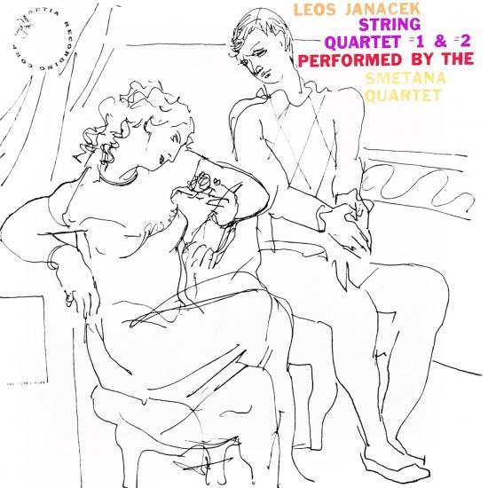 Cover String Quartet No. 1 & No. 2