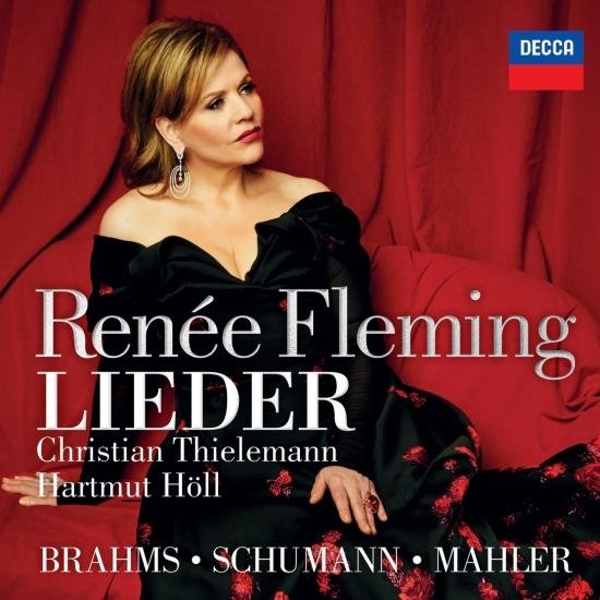 Cover Brahms, Schumann & Mahler: Lieder