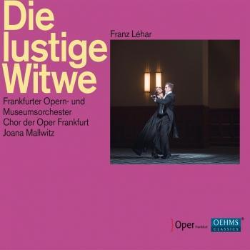 Cover Lehár: Die lustige Witwe (Live)