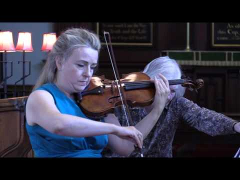Video Clare Howick & John Paul Ekins - Elgar Violin Sonata - 2nd Movement: Romance