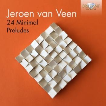 Cover Jeroen van Veen: 24 Minimal Preludes