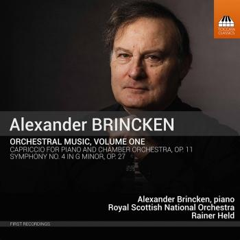 Cover Alexander Brincken: Orchestral Music, Vol. 1