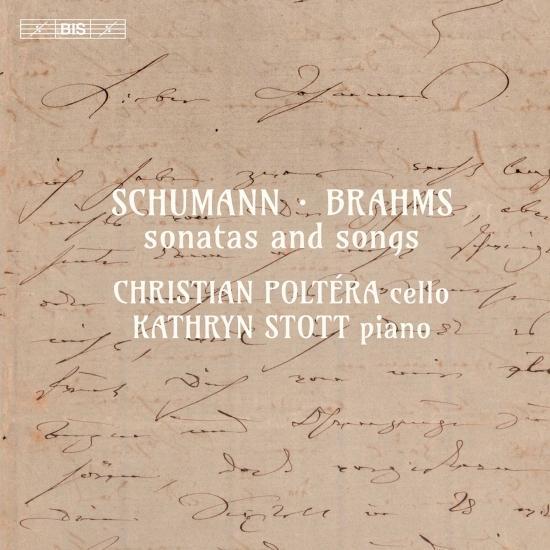 Cover R. Schumann, C. Schumann & Brahms: Sonatas & Songs