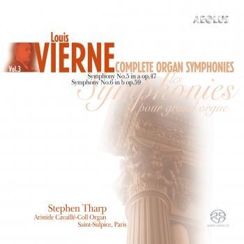 Cover Vierne: Complete Organ Symphonies Vol. 3
