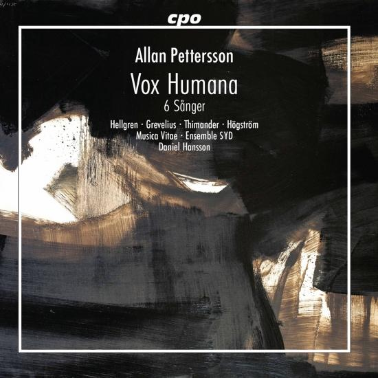Cover Pettersson: Vox Humana & 6 Sanger