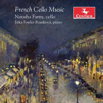 Cover French Cello Music