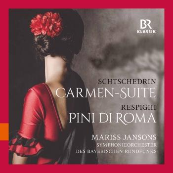 Cover Rodion Shchedrin: Carmen Suite – Respighi: Pini di Roma (Live)