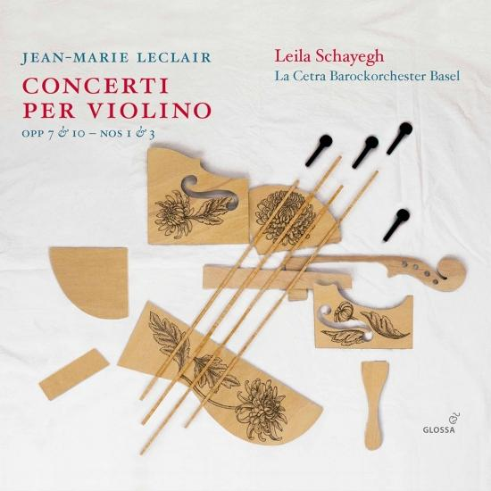 Cover Leclair: Violin Concertos, Vol. 2