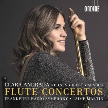 Cover Nielsen, Ibert & Arnold: Flute Concertos