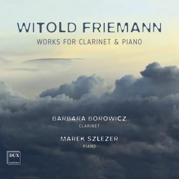 Cover Friemann: Works for Clarinet & Piano