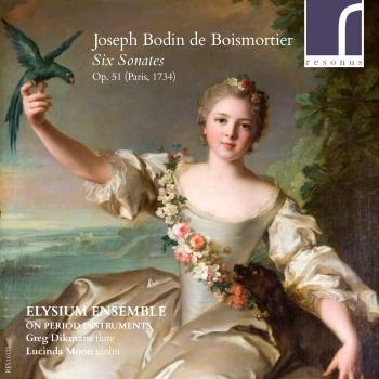 Cover Joseph Bodin de Boismortier: Six Sonatas Op. 51
