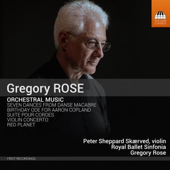 Cover Gregory Rose: Orchestral Music
