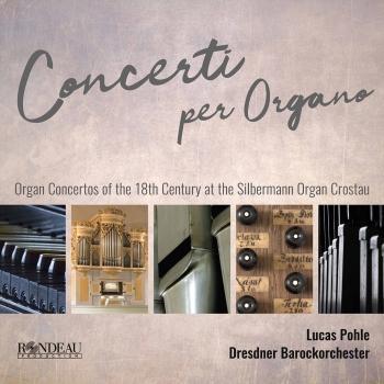 Cover Handel, C.P.E. Bach & J.S. Bach: Concerti per Organo