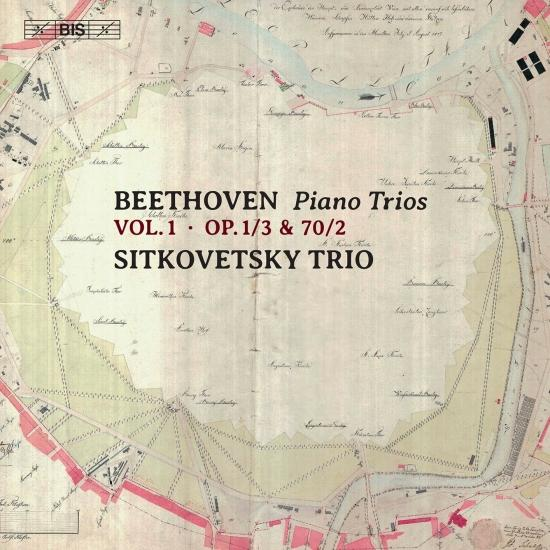 Cover Beethoven: Piano Trios, Vol. 1