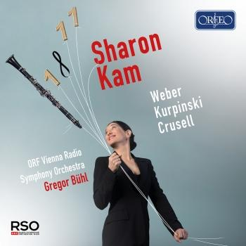 Cover Weber, Kurpiński & Crusell: Works for Clarinet & Orchestra
