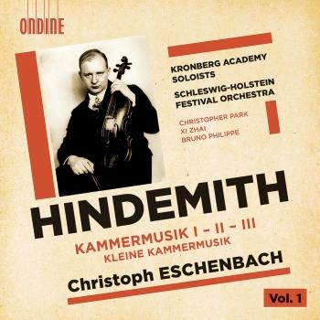 Cover Hindemith: Kammermusik, Vol. 1