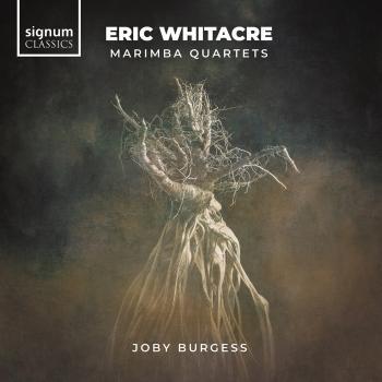 Cover Eric Whitacre: Marimba Quartets