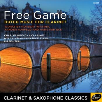 Cover Free Game - Dutch Music for Clarinet