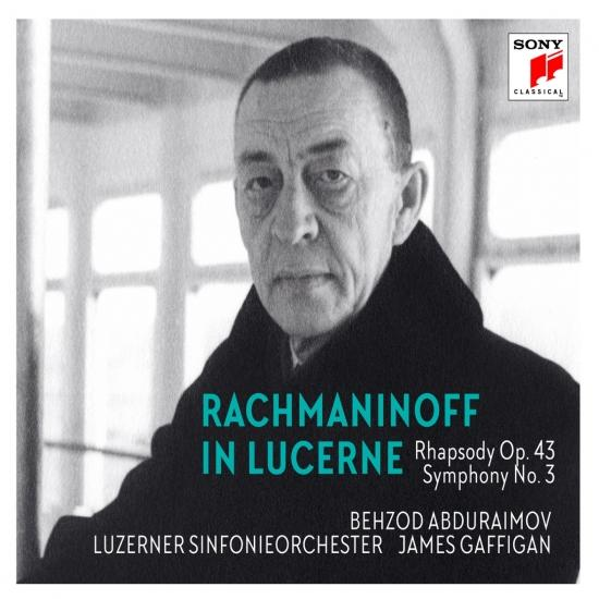 Cover Rachmaninoff in Lucerne - Rhapsody on a Theme of Paganini, Symphony No. 3