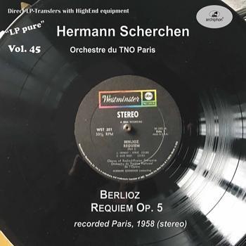 Cover LP Pure, Vol. 45: Berlioz: Requiem Op. 5 (Remastered Historical Recording)