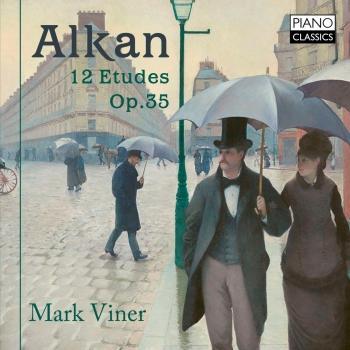 Cover Alkan: 12 Etudes, Op. 35