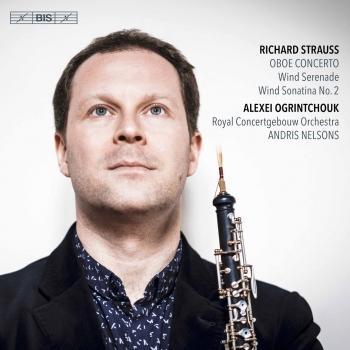 Cover R. Strauss: Oboe Concerto, Serenade & Sonatina No. 2