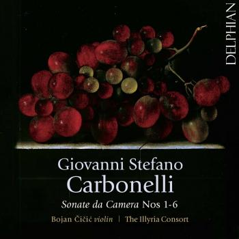 Cover Carbonelli: Sonate da camera, Nos. 1-6